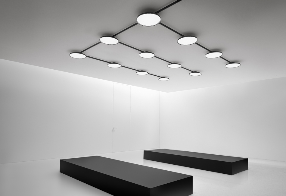 System Composed Of Ceiling Lights And