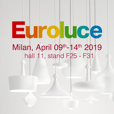 Aldo Bernardi at Euroluce 2019