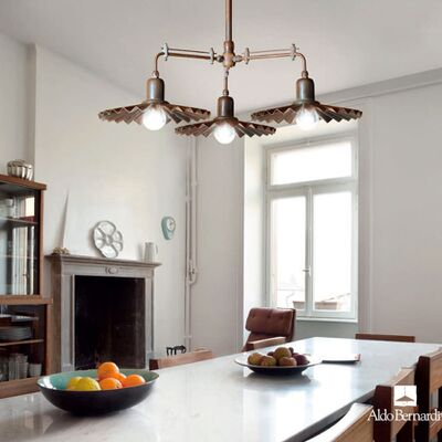 Brass designer lighting systems